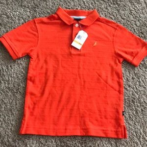 NWT Nautical Size 4 Orange Polo